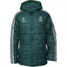 Geaca barbati ADIDAS Real Madrid 100% originala, noua, CURIER GRATUIT, Marime: L, Culoare: Bleumarin
