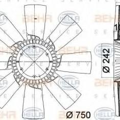 Paleta ventilator, racire motor MERCEDES-BENZ TRAVEGO O 580-15 RH/RHD - HELLA 8MV 376 758-231 - Ventilatoare auto