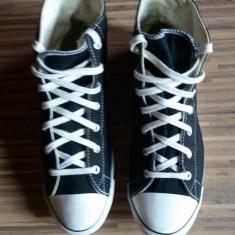 Converse All Star originali, high top, nr.40, 5-26 cm. - Tenisi dama Converse, Culoare: Negru, Textil