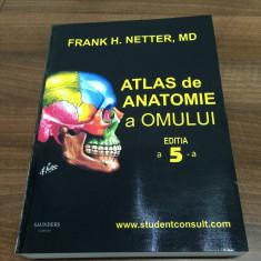 Netter editia a V-a ROMANA Atlas de Anatomie a Omului - NOU