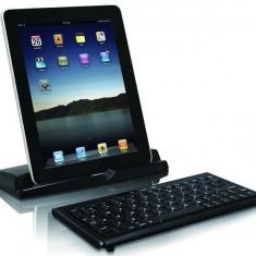 Mini tastalura Macally Bluetooth + Stand tableta - Tastatura, Mini tastatura, Fara fir