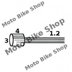 MBS Cablu acceleratie 1, 2x2000 Piaggio Vespa (punga 50 buc.-pret/1buc.), Cod Produs: 163510011RM - Accesorii Cabluri Moto