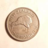 NOUA ZEELANDA 1 FLORIN 1964, Australia si Oceania