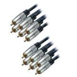 Generic Cablu 6 x RCA tata - 6 x RCA tata, HT, 5 m