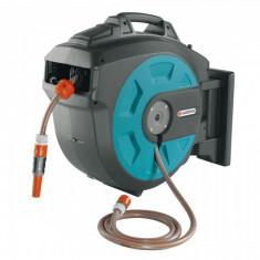 Gardena Dispozitiv de perete Comfort 08023-20 pentru furtun 25 roll-up automatic - Stropitoare gradina