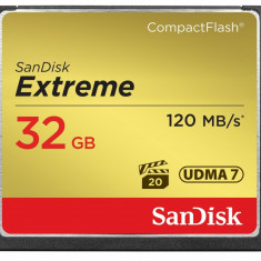 Card memorie SanDisk Extreme Compact Flash, 32GB - Multimedia card