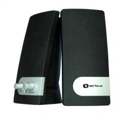 Boxe Serioux Pop 251B, Sistem 2.0, 200W PMPO - Boxe PC