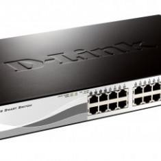 Switch D-Link DGS-1210-28, Managed Switch, 24 porturi Gigabit, 4 porturi SFP Gigabit