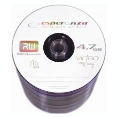 ESPERANZA DVD+R 16x, 4.7 GB, 100 bucati