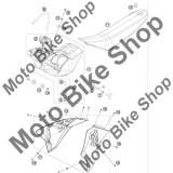 MBS Buson rezervor KTM portocaliu/negru #2, Cod Produs: 78007008044X4KT