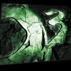 Mousepad Ozone profesional, Rock Edition, verde