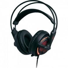 Casti Steelseries Diablo III Headset, microfon, negru/rosu
