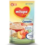 MILUPA Buna dimineata cereale (fara lapte) Orez si Piersici 180g de la 6 luni