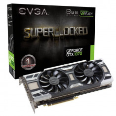 Placa video EVGA EVGA GeForce GTX 1070 SC GAMING ACX 3.0, 8GB GDDR5 (256 Bit), HDMI, DVI, 3xDP - Placa video PC