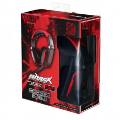 Casti Thermaltake Tt eSPORTS SHOCK Blasting Red headset, rosii - Casti PC