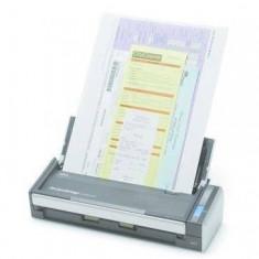 Scanner Fujitsu SCANSNAP S1300i, USB 2.0, A4, Negru, Argint