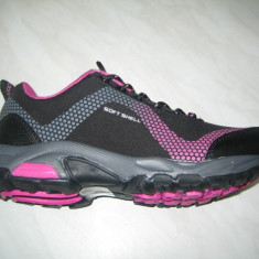 Pantofi sport impermeabil femeie WINK;cod LF6400-4;marime:36-41 - Adidasi dama Wink, Marime: 37, 39, Culoare: Negru, Piele sintetica