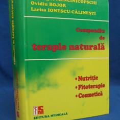 GHEORGHE MENCINICOPSCHI / OVIDIU BOJOR - COMPENDIU DE TERAPIE NATURALA - 2009