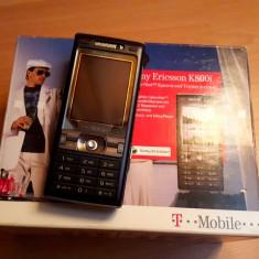 Sony Ericsson K800i la cutie - 99 lei - Telefon mobil Sony Ericsson, Negru, Nu se aplica, Neblocat, Fara procesor