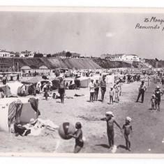 Mangalia aprox.1930 - Plaja, ilustrata necirculata - Carte Postala Muntenia 1904-1918