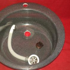 Chiuveta bucatarie neagra NOUA