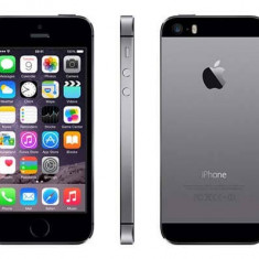 IPhone 5S 16gb Space Grey Gri Negru Black Garantie 1 an Nou Liber Retea Apple, Neblocat