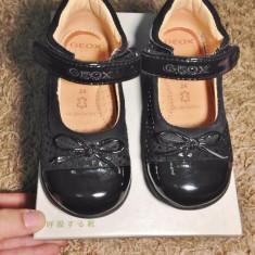 Pantofiori GEOX RESPIRA - Marimea 24 - Pantofi copii Geox, Culoare: Negru