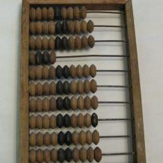 Numaratoare din lemn abac vechi Rusia - Bibelou vechi