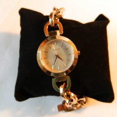 Ceas de dama DKNY stil bratara din otel - Ceas dama Dkny, Fashion, Quartz, Inox, Analog