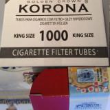 Pachet promo 1000 tuburi plus tutunul necesar, nu este tutun vrac