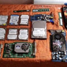 LOT HDD LAPTOP SATA IDE + PLACI VIDEO PCI EXPRESS AGP + MEMORII CU DEFECTE