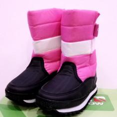 Cizme de iarna pentru copii Campri snow. Pe roz si pe albastru - Cizme copii Campri, Marime: 29, 31, 32, 33, Textil
