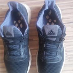 Adidas originali, talpa spuma, nr.43-27, 5 cm. - Adidasi barbati, Culoare: Negru, Textil