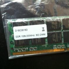 Memorie laptop ddr1 333 mhz - Memorie RAM laptop