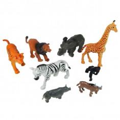 Set 8 animale salbatice - Figurina Animale