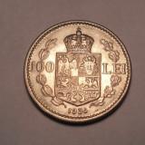 100 lei 1936 AUNC - Moneda Romania