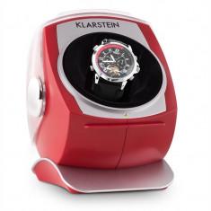 Klarstein Senna, suport roșu mobil ceas, extensor, stânga-dreapta