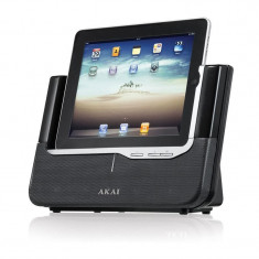 IPad/iPoD/iPhone difuzor activ Akai ASB 8i 3D - Dock Tableta
