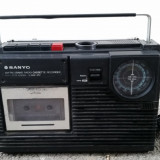 Radio casetofon vechi Sanyo M2402-3FZ