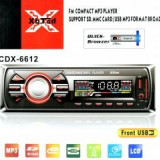 Radio MP3 Player 6612 - CD Player MP3 auto