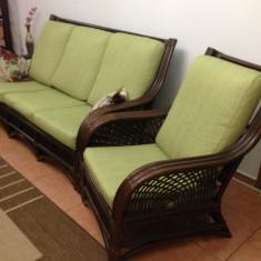 Mobila sufragerie - Canapea Ratttan