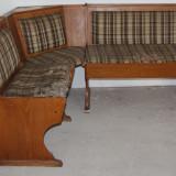 Coltar pentru retapitare; Canapea de bucatarie cu lada de depozitare