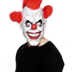 Masca clovn, latex, pentru amuzament, Halloween - Masca carnaval, Marime: Marime universala, Culoare: Din imagine