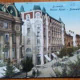 Bucuresti, Bulevardul Elisabeta, Palace Hotel, circulata la Venetia, 1925 - Carte Postala Muntenia dupa 1918, Printata