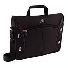 Wenger, Developer 15 inch Messenger Macbook Pro Flapover, Black (R)