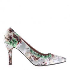 Pantofi dama Marjorie verzi - Pantof dama