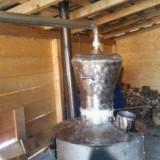 Vand cazan de tuica din inox 100% alimentar .100 LITRI. URGENT