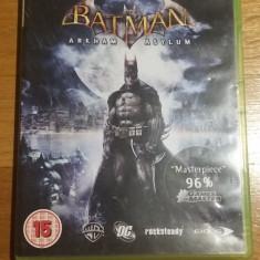 Joc XBOX 360 Batman Arkham Asylum original PAL / by WADDER - Jocuri Xbox 360, Actiune, 16+, Single player