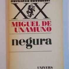 NEGURA de MIGUEL DE UNAMUNO, 1975