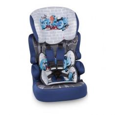 Scaun Auto 9-36 kg X-Drive Plus Blue Graffiti Lorelli - Scaun auto copii grupa 1-3 ani (9-36 kg) Lorelli, Roz
